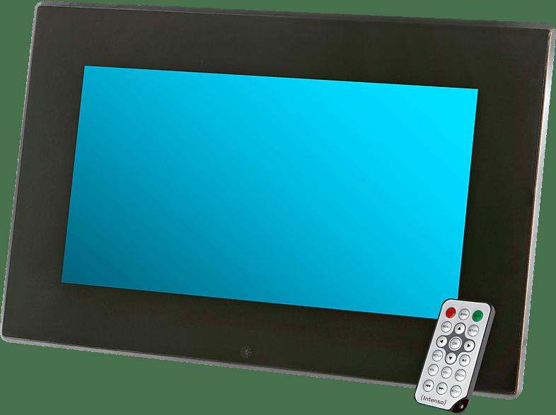 """INTENSO 3932800 13.3"""" Media Stylist Digitaler Bilderrahmen , 35.56 cm, 1.366 x 768 Pixel, Schwarz"""