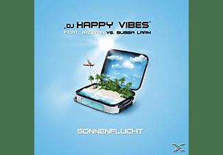 DJ Happy Vibes feat. Jazzmin vs. Bubba Larm - Sonnenflucht  - (Maxi Single CD)