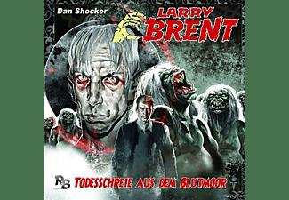 Larry Brent 08: Todesschreie aus dem Blutmoor  - (CD)