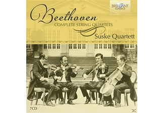 Suske-quartett - Complete String Quartets  - (CD)