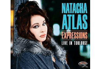 Natacha Atlas - Expressions - Live In Toulouse  - (CD)