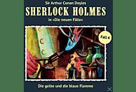 Sherlock Holmes - Die neuen Fälle 04: Die gelbe und die blaue Flamme - (CD)