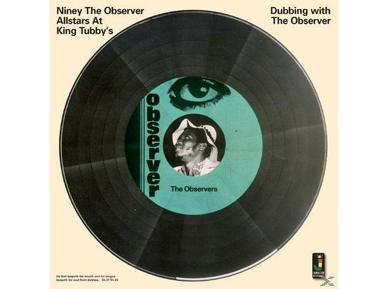 Niney The Observer - Dubbing With The Observer [CD]