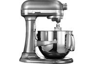 KITCHENAID 5KSM7580XEMS Artisan Küchenmaschine Silber (Rührschüsselkapazität: 6,9 Liter, 500 Watt)