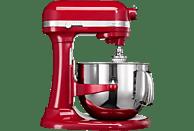 KITCHENAID 5KSM7580XEER0 Artisan Küchenmaschine Rot (Rührschüsselkapazität: 6,9 Liter, 500 Watt)