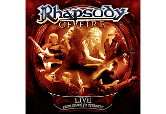 Rhapsody Of Fire - Live - From Chaos To Eternity (Digipak) (CD)