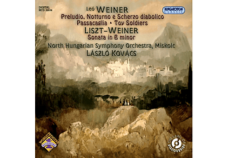 North Hungarian Symphony Orchesta, Kovács László - Original Works and a Liszt Arrangement (CD)