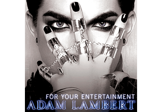 Adam Lambert - For Your Entertainment (CD)