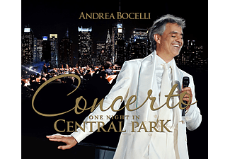 Andrea Bocelli - Concerto - One Night In Central Park (DVD)
