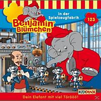 Benjamin Blümchen - Folge 123: ...in der Spielzeugfabrik  - (CD)