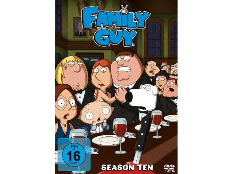 Family Guy - Staffel 10 [DVD]