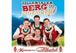 Zillertaler Bergzigeuner - Komm ins Zillertal  - (CD)