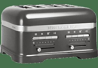KITCHENAID 5KMT4205EMS Artisan Toaster Silber (1250 Watt, Schlitze: 2)