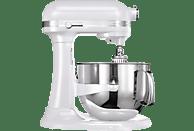 KITCHENAID 5KSM7580XEPP Artisan Küchenmaschine Weiß (Rührschüsselkapazität: 6,9 Liter, 500 Watt)