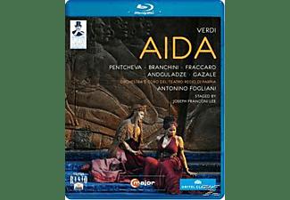 Orchestra/Coro Teatro Regio Pa, Fogliani/Malinverno/Pentcheva - Aida  - (Blu-ray)