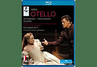Orchestra/Coro Teatro Regio Pa, Muti/Antonenko/Poplavskaya - Othello  - (Blu-ray)