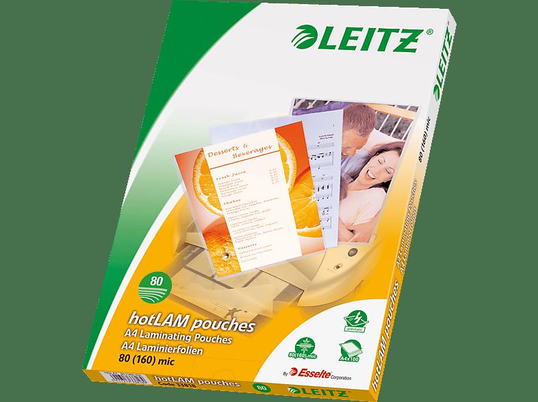 LEITZ 33818 DIN A4 80 Micron Laminierfolie