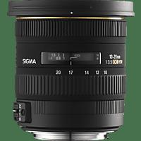 SIGMA 10-20mm F3.5 EX DC HSM 10 mm-20 mm f/3.5 DC, EX, HSM (Objektiv für Canon EF-Mount, Schwarz)