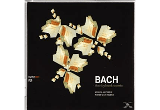 Pieter-jan Belder, Musica Amphion - Bach - Three Keyboard Concertos - (CD)