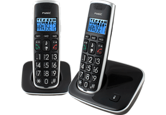 FYSIC Draadloze telefoon Big Buttor Twin set (FX-6020)