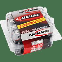 ANSMANN 5015548 AA Mignon Batterie Alkaline 20 Stück