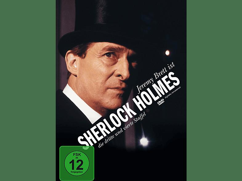 Sherlock Holmes - Staffel 3-4 (Neuauflage) [DVD]