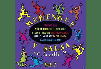VARIOUS - Merengue Y Salsa En La Calle 8  - (CD)