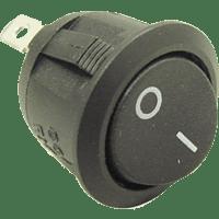 AIV 530244  Wippschalter - rund EBM 19MM Wipp Schalter