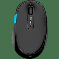 MICROSOFT Sculpt Comfort Bluetooth Maus Funkmaus, Schwarz