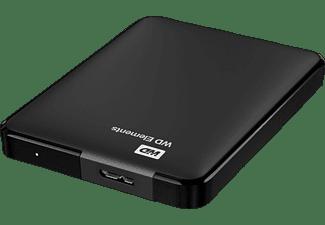 WD Elements Portable Festplatte, 1,5 TB HDD, 2,5 Zoll, extern, Schwarz