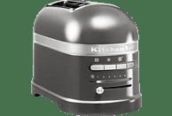 KITCHENAID 5KMT2204EMS Artisan Toaster Silber (1250 Watt, Schlitze: 2)