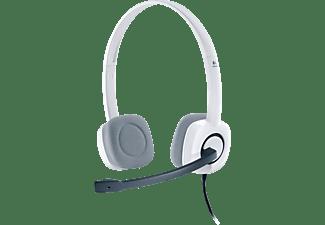 LOGITECH H150, On-ear Headset Weiß