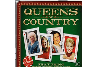 VARIOUS - Queens Of Country (Lim.Metalbox Ed.)  - (CD)