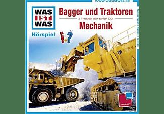 - WAS IST WAS: Bagger und Traktoren / Mechanik  - (CD)