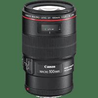 CANON EF 100mm F2.8L Macro IS USM - 100 mm f/2.8 EF, IS, USM, L-Reihe (Objektiv für Canon EF-Mount, Schwarz)