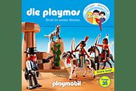 Die Playmos - Die Playmos 35: Streit im wilden Westen - (CD)