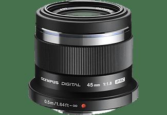 OLYMPUS Objektiv Pen M Zuiko Digital 45mm 1:1.8 schwarz