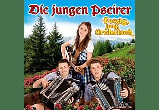 Die Jungen Pseirer - Fetzig,Jung,Tirolerisch  - (CD)