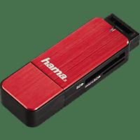 HAMA USB3.0 Kartenleser, Schwarz