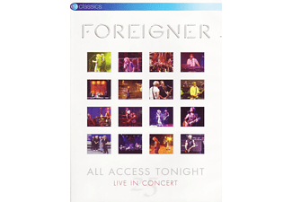 Foreigner - All Access Tonight (DVD)
