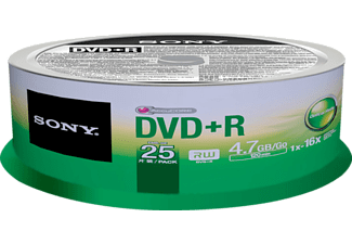 SONY 25DPR47SP DVD*R Recordable DVD-R