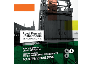 Martyn Brabbins, Royal Flemish Philharmonic - Symphony No. 6-Three Symphonic Move - (CD)