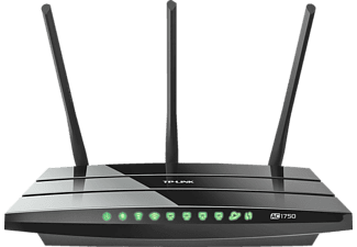 TP-LINK Archer C7 AC1750 - Router Dual Band-Gigabit-WLAN (Nero)