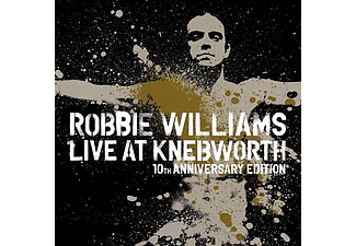 Robbie Williams - Live At Knebworth 2003 - 10th Anniversary - Deluxe Edition (DVD + Blu-ray)