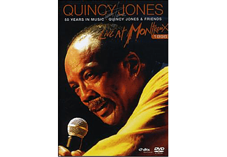 Quincy Jones - 50 Years In Music - Live At Montreux 1996 (DVD)