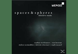 Tara Bouman, Stefano Scodanibbio, Fabrizio Ottaviucci, Mark Nauseef, Stockhausen Markus - Spaces & Spheres  - (CD)