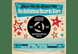 VARIOUS - Love Me Or Leave Me-Bethlehem Records Story1958-62  - (CD)