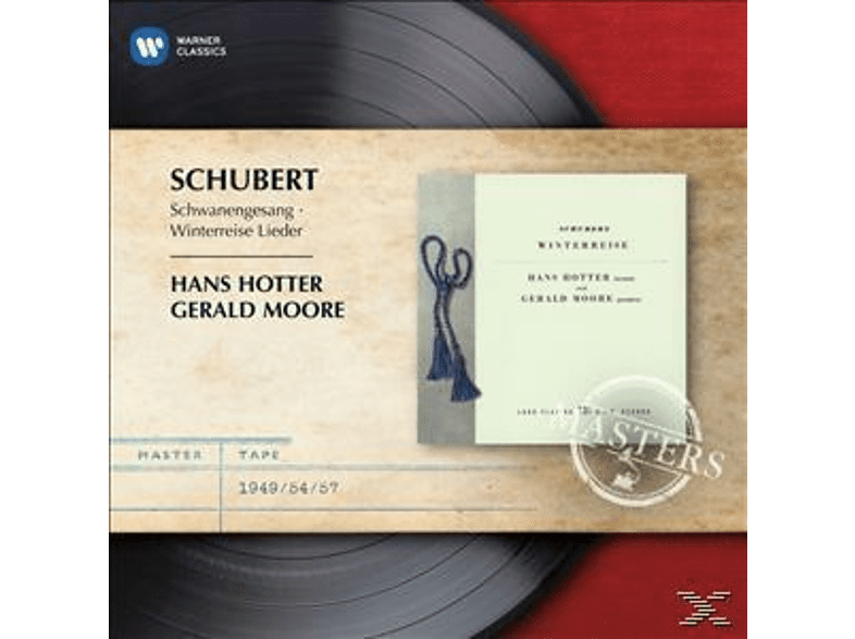 Hans Hotter, Gerald Moore - Winterreise, Schwanengesang [CD]