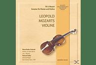 Bader-Kubizek,Maria/Fuller,Richard - Leopold Mozarts Violine [CD]