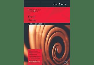 Cheryl Studer, Giorgio Zancanaro, Ernesto Gavazzi, Kaludi Kaludov, Mario Luperi, Samuel Ramey - Verdi, Giuseppe - Attila (La Scala, 1991)  - (DVD)